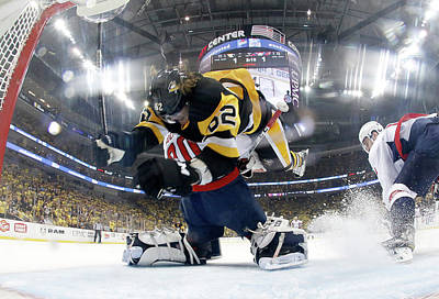 Stanley Cup Playoffs Photograph - Washington Capitals V Pittsburgh by Justin K. Aller
