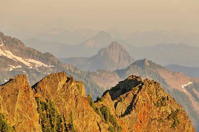 Repetition Photograph - Washington, Cascade Mountains, Mount by Matt Freedman