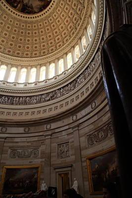 Columns Photograph - Washington Dc - Us Capitol - 011312 by DC Photographer