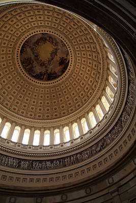 Dome Photograph - Washington Dc - Us Capitol - 011313 by DC Photographer