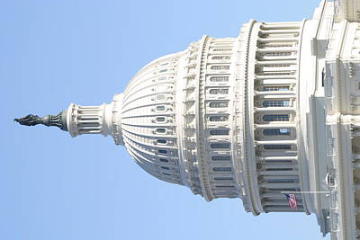 Washington Dc - Us Capitol - 01139 Art Print by DC Photographer