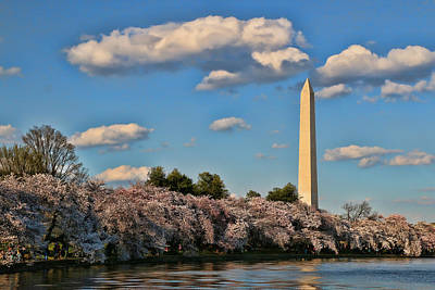 Photograph - Washington Monument by Allen Beatty