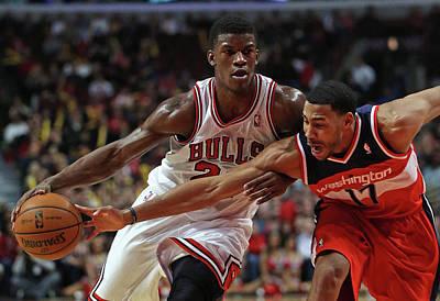 Chicago Photograph - Washington Wizards V Chicago Bulls by Jonathan Daniel