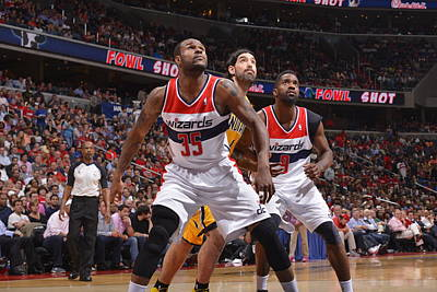 Photograph - Washington Wizards V Indiana Pacers by David Dow