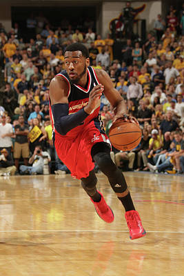 Photograph - Washington Wizards V Indiana Pacers - by Ron Hoskins