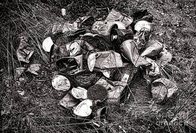 Waste Photograph - Waste by Olivier Le Queinec
