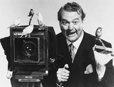 Red Skelton Photograph - Watch The Birdie, Red Skelton, 1950 by Everett