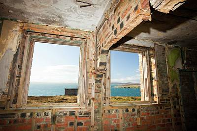 Watch Tower Photograph - Watch Tower For A Gun Emplacement by Ashley Cooper
