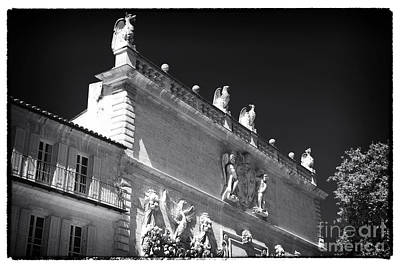 Photograph - Watching Over The Papal Palace by John Rizzuto