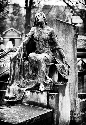 Cemeteries Of Paris Photograph - Watching Over You by John Rizzuto