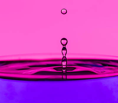 Photograph - Water Drop by Peter Lakomy