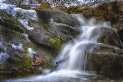Photograph - Water In Motion by Steve Hurt