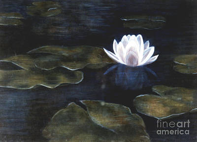 Painting - Water Lily by Patricia  Tierney