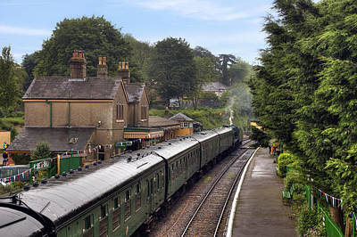 Great Lines Photograph - Watercress Line Alresford by Joana Kruse