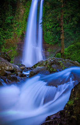 Waterfall - Bali Art Print by Matthew Onheiber