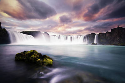 Photograph - Waterfall by Dennis Fischer Photography
