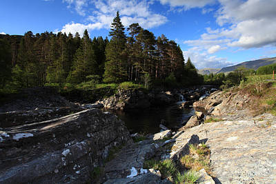 World War 2 Action Photography - Waterfall in the Scotish Highlands by Ollie Taylor