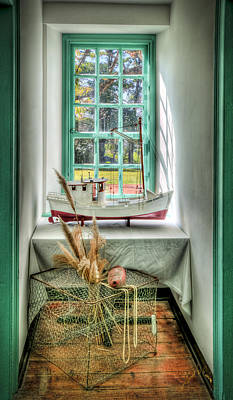 Photograph - Watermans Window by Williams-Cairns Photography LLC