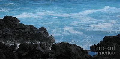 Photograph - Wave - Vague - Ile De La Reunion - Reunion Island by Francoise Leandre