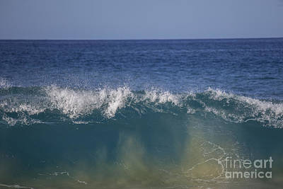 Photograph - Waves by Shishir Sathe