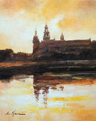Painting - Wawel Impression - Poland by Luke Karcz