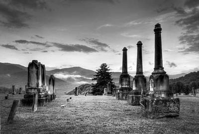 Photograph - Waynesville Green Hill Cemetery by Craig T Burgwardt