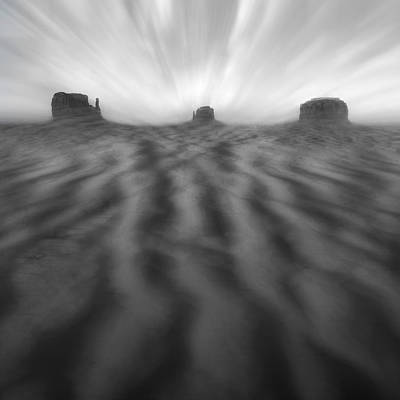 Southwest Landscape Digital Art - Weathered by Mike McGlothlen