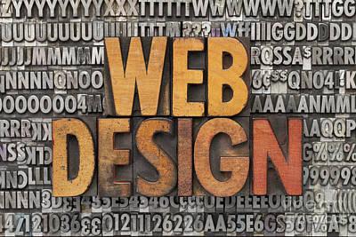 Web Design Art Print