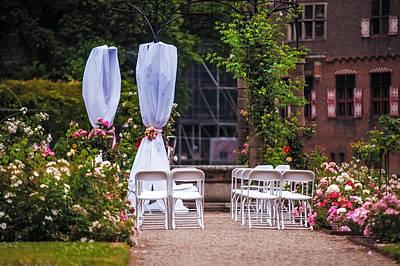 Old Masters Royalty Free Images - Wedding Arrangement in De Haar Castle. Utrecht Royalty-Free Image by Jenny Rainbow