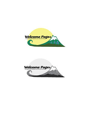 Digital Art - Welcome Pages Logo by Teri Schuster