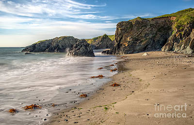 North Wales Digital Art - Welsh Coast by Adrian Evans