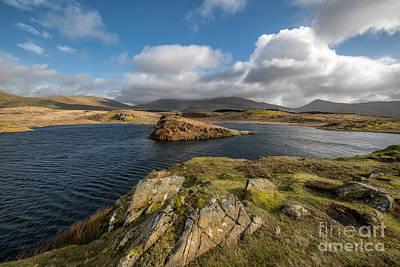 Llyn Y Dywarchen Photograph - Welsh Lake by Adrian Evans