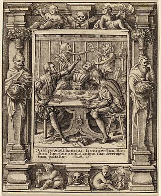 Wenceslaus Hollar After Hans Holbein The Younger Print by Quint Lox
