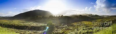 River View Photograph - West Coast Range Landscape In Tasmania Australia by Jorgo Photography - Wall Art Gallery