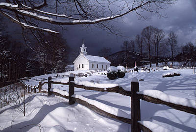 Photograph - West Guilford Church by Paul Miller