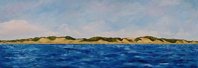 Painting - West Michigan Dunes by Michelle Calkins