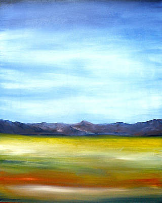 West Texas Landscape Art Print