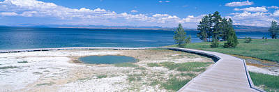 West Thumb Geyser Basin, Yellowstone Art Print by Panoramic Images