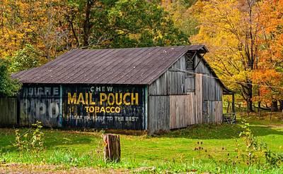 Rustic Photograph - West Virginia Barn by Steve Harrington