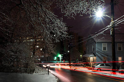 Photograph - Westchester Avenue by Dana Sohr
