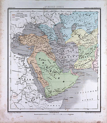 Western Asia Or West Asia Art Print by Litz Collection