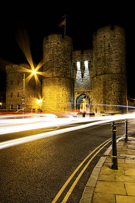 Canterbury Wall Art - Photograph - Westgate Towers by Ian Hufton