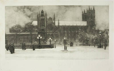 Christina Photograph - Westminster Abbey by British Library