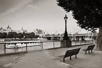 Photograph - Westminster Panorama by Songquan Deng