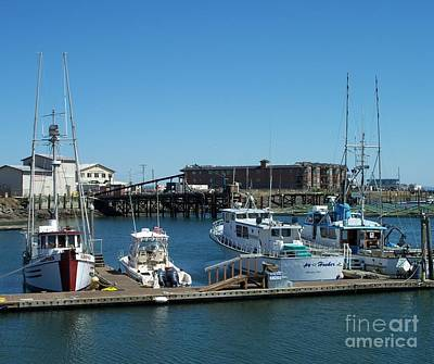 Photograph - Westport Marina 2 by Chalet Roome-Rigdon