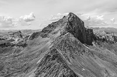 Photograph - Wetterhorn Peak by Aaron Spong