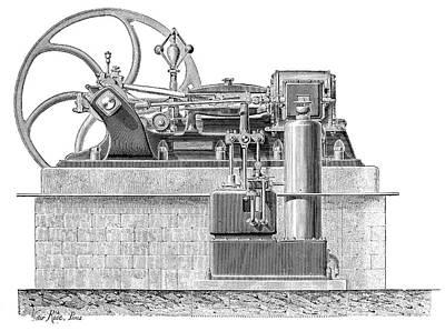 Weyher-richemond Engine Art Print