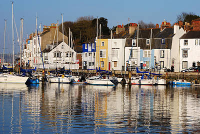 Photograph - Weymouth In The Water by Wendy Wilton