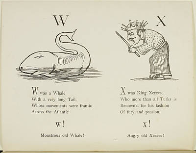 Edition Photograph - Whale And King Xerxes by British Library