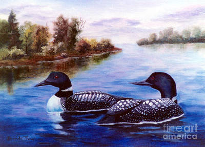 Painting - What A Pair by Brenda Thour